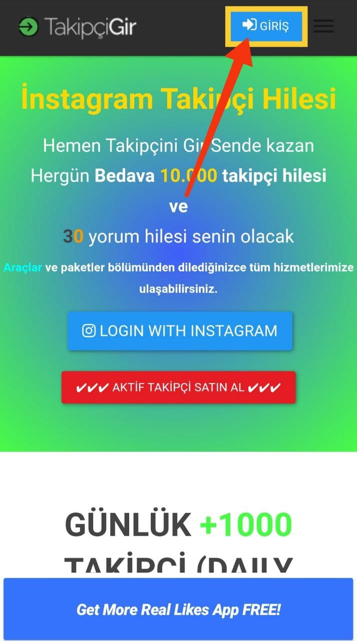 Login To The App