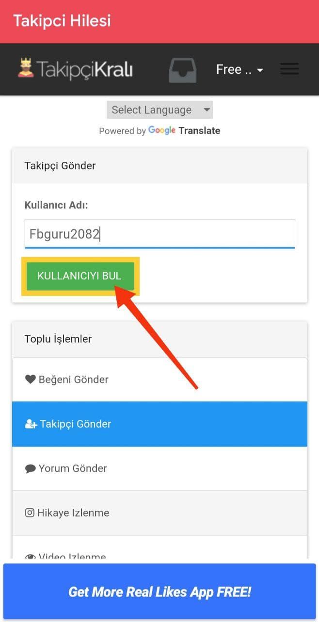 Search a Username